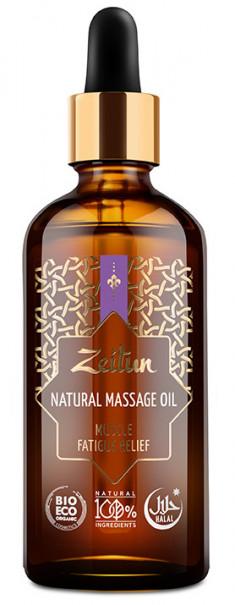 ZEITUN Масло № 10 массажное, для снятия мышечной усталости 100 мл