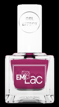 E.MI 024 лак ультрастойкий для ногтей, Сладкая слива / E.MiLac Gel Effect 9 мл