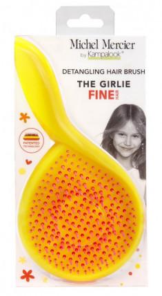 MICHEL MERCIER Щетка детская для тонких волос / The Girlie Detangling Brush for Fine hair