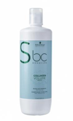 Шампунь мицеллярный Schwarzkopf Professional BC Collagen Volume Boost 1000 мл