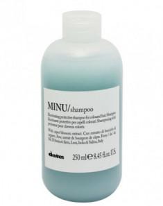 Шампунь защитный для сохранения цвета волос Davines MINU/shampoo 250 мл