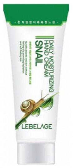 Крем для рук с муцином улитки LEBELAGE Daily Moisturizing Snail Hand Cream