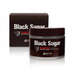 скраб для лица eyenlip black sugar scrub pack