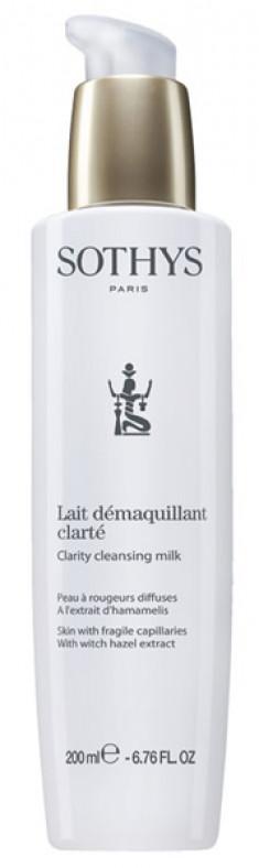 SOTHYS Молочко очищающее с экстрактом гамамелиса для кожи с хрупкими капиллярами / ESSENTIAL PREPARING TREATMENTS 200 мл