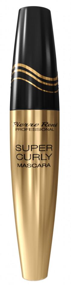 PIERRE RENE Тушь супер подкручивание ресниц, черная / Mascara Super Curly 15 мл PIERRE RENE PROFESSIONAL