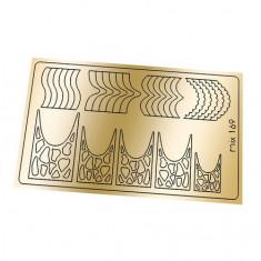 Freedecor, Металлизированные наклейки №169, золото