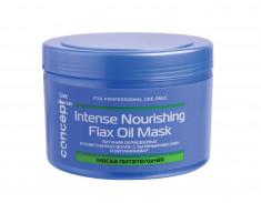 CONCEPT Маска питательное с льняным маслом для окрашенных и осветленных волос / LIVE HAIR Intense nourishing mask with flax oil 500 мл