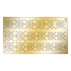 Freedecor, Металлизированные наклейки №201, золото