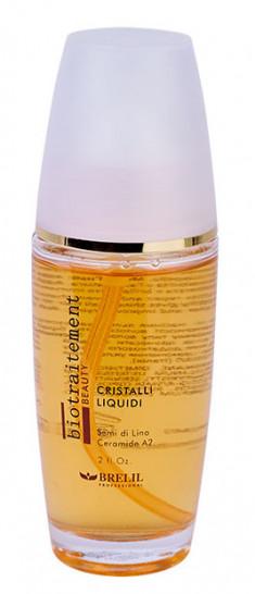 BRELIL PROFESSIONAL Блеск для волос Жидкие кристаллы / Biotraitement Beauty 60 мл