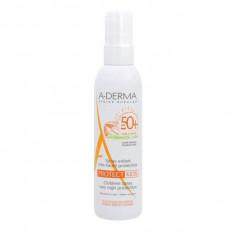 A-DERMA Протект Kids Cолнцезащитный спрей для детей SPF 50+ 200мл
