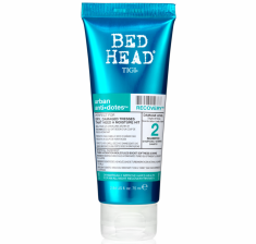 TIGI Шампунь для поврежденных волос уровень 2 / TRAVEL SIZEBH Urban Anti+dotes Recovery 75 мл