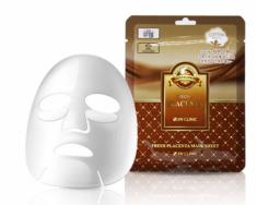 Тканевая маска для лица ПЛАЦЕНТА 3W CLINIC Fresh Placenta Mask Sheet 10 шт