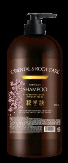 Шампунь для волос ТРАВЫ EVAS Pedison Institut-beaute Oriental Root Care Shampoo 750 мл
