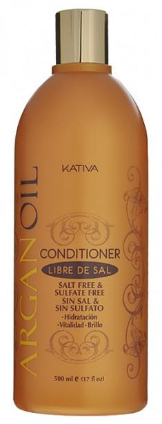 KATIVA Кондиционер увлажняющий с маслом арганы для волос / ARGANA 500 мл