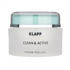 Klapp Крем-пилинг CLEAN&ACTIVE Cream Peeling 250мл