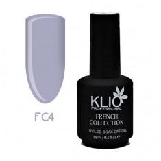Klio Professional, Гель-лак French Collection №4