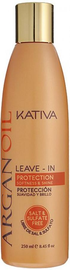 KATIVA Концентрат несмываемый оживляющий с маслом арганы для волос / ARGANA 250 мл