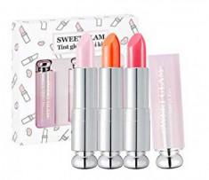 Набор мини-тинтов, усиливающих натуральный цвет губ Secret Key Sweet Glam Tint Glow Mini Kit