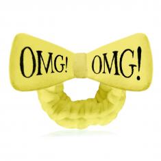 DOUBLE DARE OMG! Повязка косметическая для волос, желтая / HAIR BAND-YELLOW