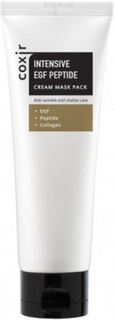 Маска кремовая интенсивная с EGF и пептидами COXIR Intensive EGF Peptide Cream Maskpack 80мл