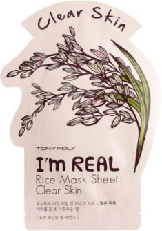 Маска с экстрактом риса Tony Moly I'm Rice Mask Sheet 21 мл