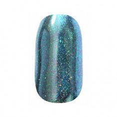ruNail, Зеркальная пыль для втирки с шиммером, сине-зеленая