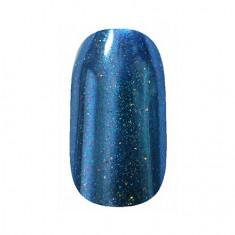 ruNail, Зеркальная пыль для втирки с шиммером, сине-фиолетовая