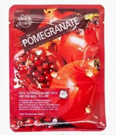 Маска тканевая с гранатом May Island Real Essence Pomegranate Mask Pack 25мл
