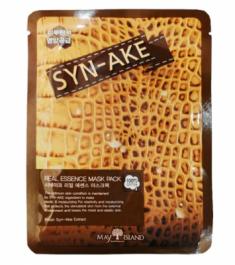 Маска тканевая со змеиным ядом May Island Real Essence Sye-Ake Mask Pack 25мл