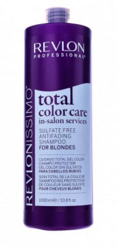 Шампунь Антивымывание Цвета для Блондинок Revlon Professional Total Color Care Anifading Shampoo Blondes 1000мл
