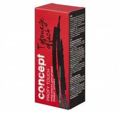 CONCEPT Краска для бровей, коричневый - эффект татуажа / PROFY TOUCH 30 + 20 мл