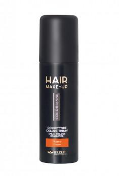 BRELIL PROFESSIONAL Спрей-макияж тонирующий для волос, медный / Colorianne Make up 75 мл