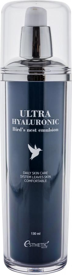 ESTHETIC HOUSE Эмульсия с экстрактом ласточкиного гнезда для лица / Ultra Hyaluronic acid Bird's nest Emulsion 130 мл