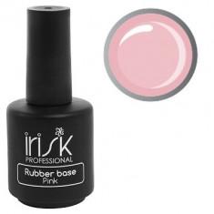 IRISK PROFESSIONAL База каучуковая камуфлирующая для ногтей, нежно-розовая / Rubber Base Pink 18 мл