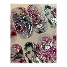 AnnaTkacheva,3D-слайдерCrystal№369 «Цветы. Девушки» Anna Tkacheva