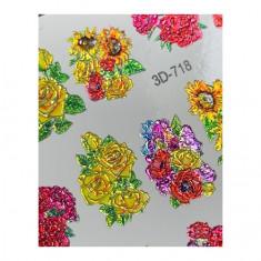 AnnaTkacheva,3D-слайдерCrystal№718 «Цветы. Цветочки» Anna Tkacheva