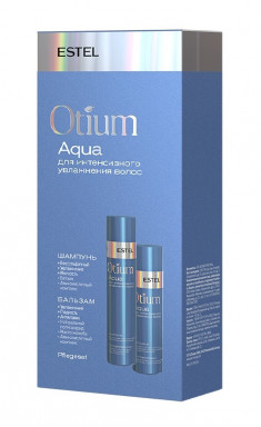 ESTEL PROFESSIONAL Набор для интенсивного увлажнения волос (шампунь 250 мл, бальзам 200 мл) OTIUM AQUA