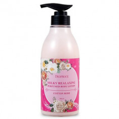 Лосьон для тела DEOPROCE MILKY RELAXING BODY LOTION COTTON ROSE 500ml