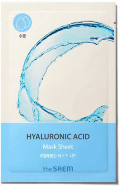 Маска тканевая с гиалуроновой кислотой THE SAEM BIO SOLUTION Hydrating Hyaluronic Acid Mask Sheet 20г