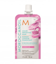 MOROCCANOIL Маска тонирующая для волос, гибискус / COLOR DEPOSITING MASK HIBISCUS 30 мл