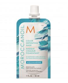 MOROCCANOIL Маска тонирующая для волос, аквамарин / COLOR DEPOSITING MASK AQUAMARINE 30 мл