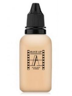 Тон-флюид водостойкий д/аэрографа Make-up-Atelier AIR2NB нейтральный светло-бежевый Fond de Teint HD, флакон-капель Make-Up Atelier Paris