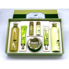 набор для лица уходовый deoproce premium greentea total solution skin care 5 set