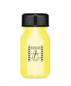 Кремовая краска для лица и тела Make-Up Atelier Paris Aquacream AQORM золотой металлический