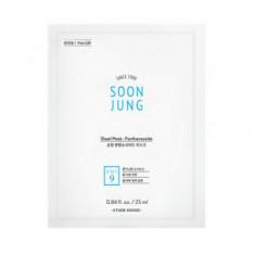 Маска тканевая успокаивающая с пантенсосидом Etude House Soon Jung Sheet Mask Panthensoside 25мл