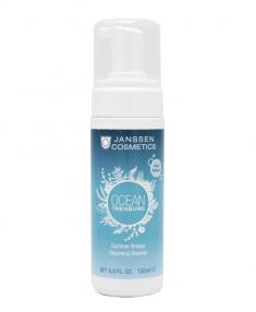 JANSSEN Мусс очищающий для лица Летний бриз / OCEAN TREASURE 150 мл