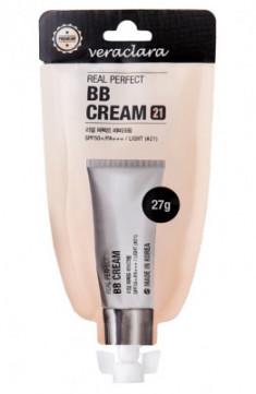 BB-крем для лица Veraclara Perfect BB Cream SPF50+ PA+++ тон21 27г