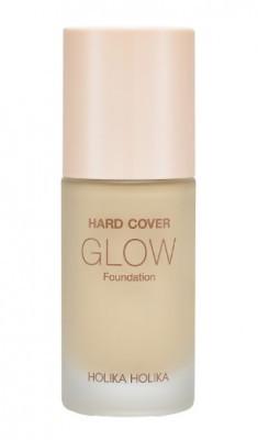 Тональная основа увлажняющая Holika Holika Hard Cover Glow Foundation 04 Honey светло-бежевый 30 мл