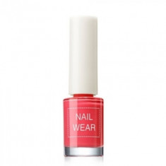 Лак для ногтей The Saem Nail Wear 05.bright red 7мл