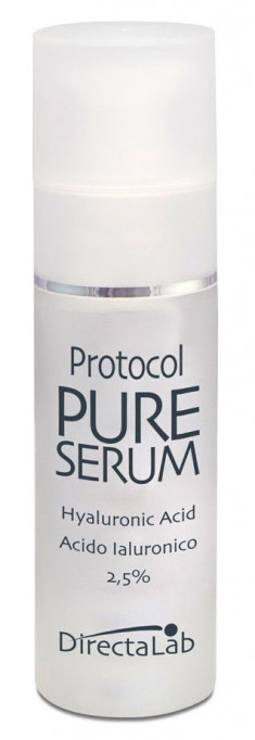 DIRECTALAB Cыворотка с гиалуроновой кислотой 2,5% / Protocol Pure Serum Hyaluronic Acid 2,5% 30 мл